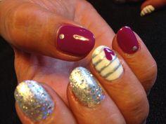 #thenailgenius #nailart #edengelpolish #melbourne #handpainted #valentinesday
