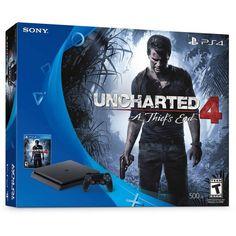 Sony PlayStation 4 Slim Uncharted 4 500GB Bundle 711719503309 | eBay http://www.ebay.com/itm/Sony-PlayStation-4-Slim-Uncharted-4-500GB-Bundle-/182343208526