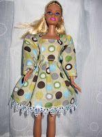 """Sharon Cose: Tutorial: coser un vestido de la muñeca de la moda de 11-1 / 2 """"(como Barbie)"""