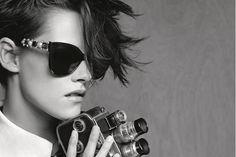 Kristen Stewart Is The Face Of Chanel's New Eyewear Campaign via @WhoWhatWear