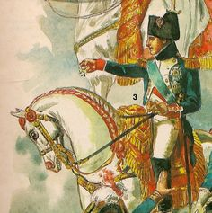 MILITARY MINIATURES by Alfons Canovas: NAPOLEON AND HORSES, by L.et F.Funcken