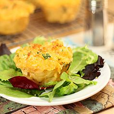 mac and cheese cupcakes from the meatloaf bakery cookbook - right up ...