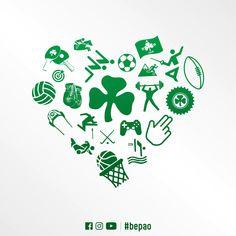 Sports Clubs, Celtic, Football, Heart, Green, Soccer, Futbol, American Football, Hearts