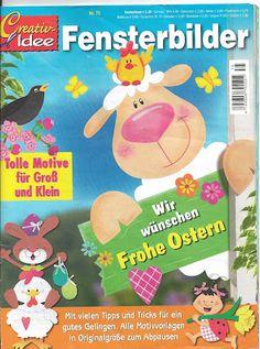 Fensterbilder Frohe Ostern - jana rakovska - Picasa Webalbumok Crafts To Make, Crafts For Kids, Magazine Crafts, Magazines For Kids, Easter Activities, Painted Books, Book Folding, Album, Tole Painting