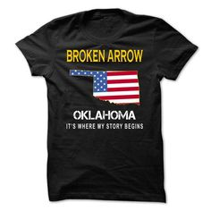 BROKEN ARROW - Its Where My Story Begins - #funny hoodies #customized sweatshirts. SAVE => https://www.sunfrog.com/States/BROKEN-ARROW--Its-Where-My-Story-Begins-bclvr.html?id=60505