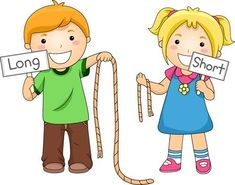 Illustration Of Kids Comparing Ropes Stock Photo, Picture And Royalty Free Image. English Activities For Kids, Learning English For Kids, English Lessons For Kids, Kids English, Preschool Learning Activities, English Language Learning, Math For Kids, Preschool Worksheets, Teaching English