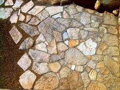 chodník z kamenů - Hledat Googlem