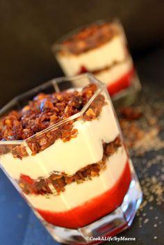 Cook A Life! by Maeva: Cranachan , dessert écossais (souvenir du Salon du...