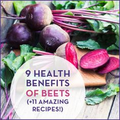 Eating beets helps detoxify your body, reduces inflammation and more! Try these 11 amazing recipes to receive all the benefits beets have to offer.