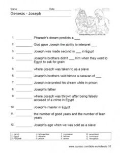 Worksheets Bible Story Worksheets old testament worksheets cain and abel puzzles bible testament