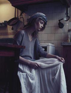 Katja Borghuis by Riccardo Bernardi http://www.fashiongonerogue.com/katja-borghuis-riccardo-bernardi-schon-magazine-13/