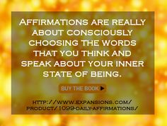 #Affirmations - http://expansions.com/