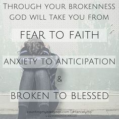 You Need God's Fierce Love When You are Broken http://shannongeurin.com/gods-fierce-love-broken/