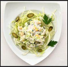 mezederyası: Tavuklu Salata Potato Salad, Potatoes, Ethnic Recipes, Food, Potato, Essen, Meals, Yemek, Eten