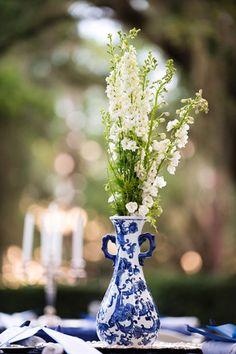 Blue and White Florida Wedding by Paul Johnson, Part II - Southern Weddings Magazine