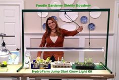 "WIN A HYDROFARM ""Jump Start Grow Light Kit!""  Go to the Home & Family Facebook page and ""Like"" them and enter a comment under the photo of me and the HydroFarm light kit on their page for chance to win. TIME SENSITIVE: Posted Jan. 29, 2015  GOOD LUCK."