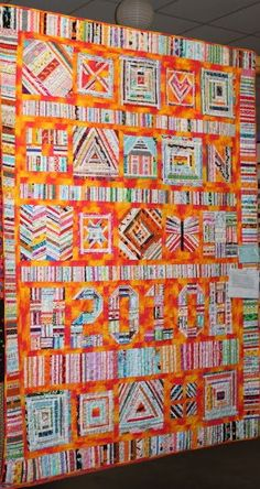 Quilt Story: A selvage quilt you must see!
