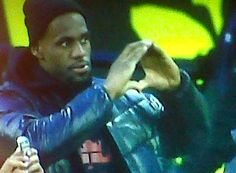Lebron James throws up the O!  #nationalbrand