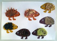 Texture hedgehogs