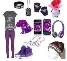 Justin Bieber stuff:)