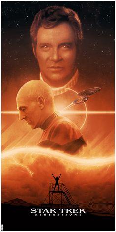 Star Trek: Generations #startrek #movie #poster