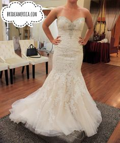 New Wedding Dress at Bridal and Veil in San Diego California