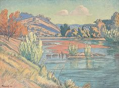 Buy online, view images and see past prices for Jacob Hendrik Pierneef - Landscape with River. Invaluable is the world's largest marketplace for art, antiques, and collectibles. South Africa Art, African Paintings, South African Artists, Art For Art Sake, Artist At Work, Landscape Paintings, Oil On Canvas, Art Projects, River
