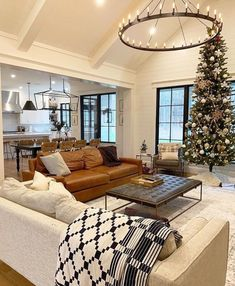 What everyone else does when it comes to home design Interior Living Room Open Concept 19 # Home Living Room, Living Room Designs, Living Room With Windows, Big Living Rooms, Living Room At Christmas, Interior Design Of Living Room, Living Room Decor Pottery Barn, Morden Living Room, Living Room Decor Elegant