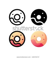 Find Donuts Logo Icon Design Four Style stock images in HD and millions of other royalty-free stock photos, illustrations and vectors in the Shutterstock collection. Thousands of new, high-quality pictures added every day. Xmas Nail Art, Cute Christmas Nails, Christmas Nail Art Designs, Free Christmas Gifts, Easy Christmas Crafts, Icon Design, Logo Design, Chicken And Donuts, Donut Logo