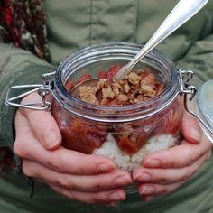 Chia Pudding, Overnight Oats, Sugar And Spice, Granola, Acai Bowl, Oatmeal, Brunch, Breakfast, Desserts