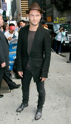 Jude Law,Men's CELB style