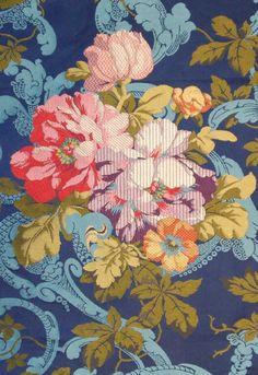 Textile design, Second Empire, 1852-1870. France. Archives de la manufacture Prelle, Lyon.