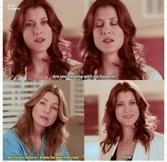 Greys Anatomy Funny, Greys Anatomy Episodes, Greys Anatomy Characters, Grays Anatomy Tv, Grey Anatomy Quotes, Grey's Anatomy Series, Grey's Anatomy Tv Show, Meredith Grey Quotes, Addison Montgomery