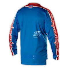 2014 Troy Lee Designs GP Air Cycling Jersery - Team Blue Red