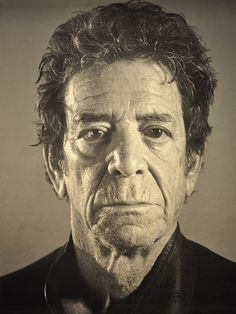 Lou Reed by Chuck Close (tapestry)