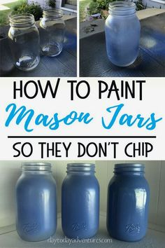 """I have a confession to make. Mason jars are my addiction. I can't NOT buy them at a garage sale. My daughter says that I have """"jar"""" a problem. She's probably right. Last summer I started up-cycling some of my """"extra"""" jars (Translate: I had run out of space and needed to #masonjar #diy"""