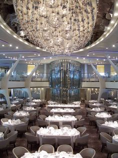 You will soon be dining on the Celebrity Solstice... So beautiful! Contact me to book your cruise. Sherry Hoover 303-841-3192