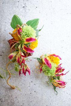 Japanese style Bouquet by HanaSakie www.hanasakie.com