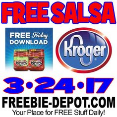 ►► FREE Salsa at Kroger – 3/24/17 ►► #FreeAfterRebate, #FreeFriday, #FREEStuff, #FREEWithCoupon, #Freebie, #FreebieFriday, #Frugal, #FrugalFind, #FrugalLife, #Kroger, #Tostitos ►►