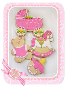 baby cookie gallery | Baby shower cookies - a gallery on Flickr