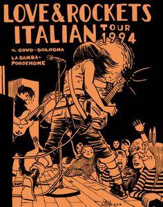 Davide Toffolo e Love and Rockets: le vidi suonare >> LoSpazioBianco