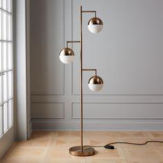 Bronze Floor Lamp, Glass Floor Lamp, White Floor Lamp, Contemporary Floor Lamps, Modern Floor Lamps, Modern Contemporary, Décor Boho, Rustic Lamps, Bedroom Lamps