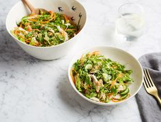 This cleansing salad is the perfect healthy work lunch—just be sure to pack your dressing on the side. If youre doing the three day anti-bloat plan, use leftover chicken from the ginger turmeric chicken bowl; …