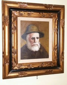 Painting: Nautical Oil Painting Canvas Fisherman Sea Captain Portrait Signed Pelbam 16X18 https://rover.ebay.com/rover/1/711-53200-19255-0/1?ff3=2&toolid=10044&campid=5337819815&customid=&lgeo=1&vectorid=229466&item=172443029270 (via @zedign)
