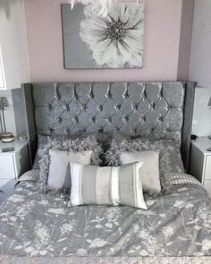 35 best pink and silver bedroom images bedroom ideas decor room rh pinterest com