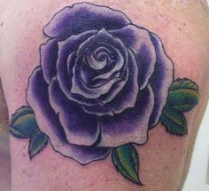 Image detail for -Looking for unique Anthony Croteau Tattoos? Purple Rose Tattoo