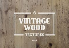 Vintage-Wood-Texture-Vol2-300 - Graphic Burger - GREAT site for free downloads!