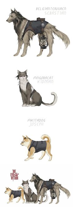 [TheEvilWithin]animals by Wavesheep