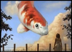 IF by Lucas Pand. Excellent weird fish art.