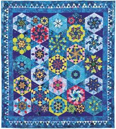 Cancun Neon. Quilt from Doubledipity: More Serendipity Quilts by Sara Nephew